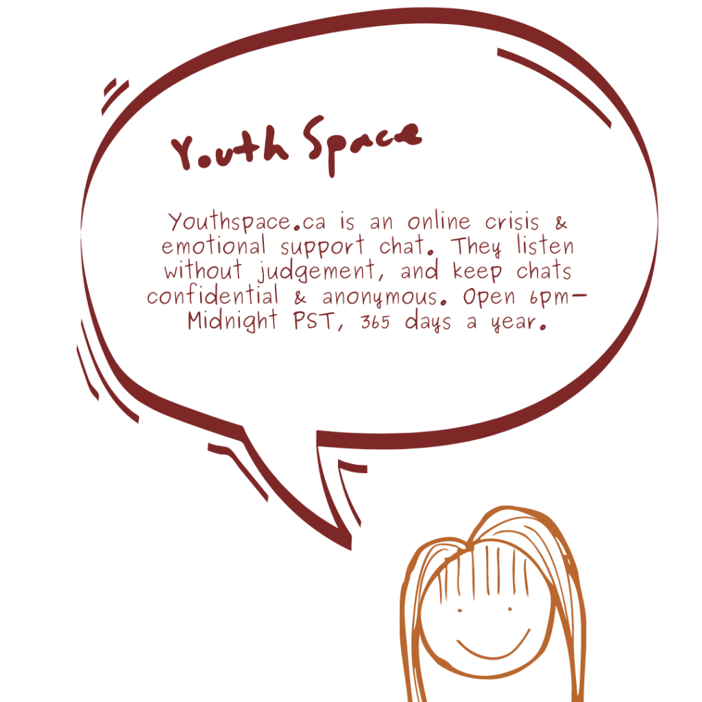Youth Space page